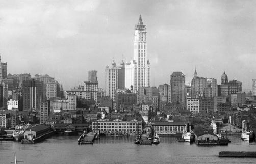История района Манхеттен
